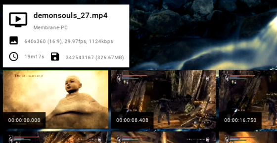 Video timeline viewer